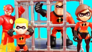 Video Incredibles 2 Dash And Imaginext Justice League Rescue Green Lantern & Mr. Incredible From Jail MP3, 3GP, MP4, WEBM, AVI, FLV September 2018