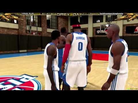 NBA 2k15 Got problems in Detroit Son!