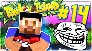 EPIC PRANKS! - PIXELMON ISLAND SMP #14 (Pokemon Go Minecraft Mod)
