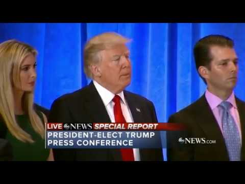 Download FULL: President-elect Donald Trump tears in to CNN & Buzzfeed at today's press conference HD Mp4 3GP Video and MP3