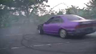 Magelang Indonesia  city photos gallery : Amazing Drift Car Nissan Cefiro Magelang Indonesia