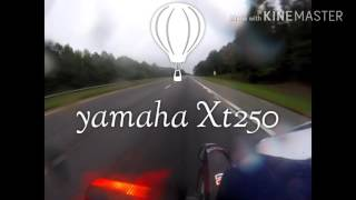 10. the yamaha xt250 2017 test ride