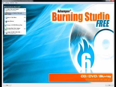 Ashampoo Burning Studio 6 Free Edition Review