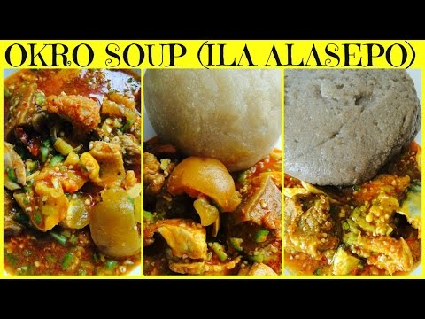 Nigerian Okro soup/Okra soup  (Ila Alasepo)