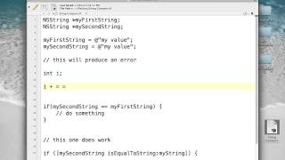 Objective-C Programming - Lecture 3 - Part 1