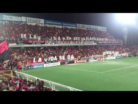 Recibimiento a Liga Deportiva Alajuelense vs Montreal Impact (1080p) - La 12 - Alajuelense