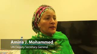 Deputy Secretary-General Amina J. Mohammed is leading a high-level delegation to her native Nigeria to highlight the importance of women's role in achieving ...