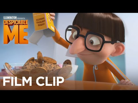 Despicable Me Clip 'The Girls Ask Vector About His Pajamas'