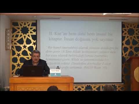 Tuncer NAMLI - İslam Düşüncesinin Oluşumunda Kur'an'ın Rolü