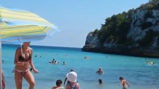 Cala Romantica Spain  City pictures : Cala Romantica Mallorca. Watch 6:30 cliff jump!