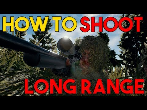 How to Aim Long Range | PlayerUnknown's Battlegrounds