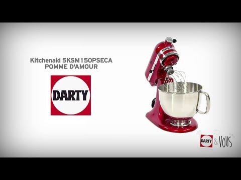 Présentation Darty du robot pâtissier Kitchenaid 5KSM150PSECA Pomme d'amour !