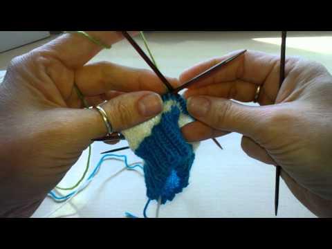 Socken mit verkürzten Reihen stricken – Teil 2