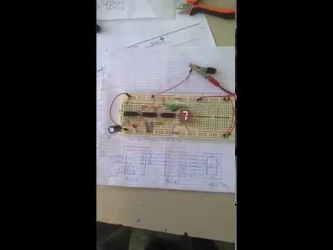 Compteur Modulo 10 avec Circuit 7493