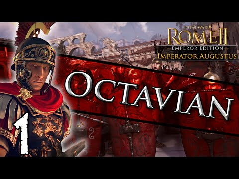 Octavian - 1 of my Total War: Rome II - Imperator Augustus: Octavian Campaign Gaming Keyboard Facebook Giveaway: https://www.facebook.com/Lionheartx10/photos/a.5116687...