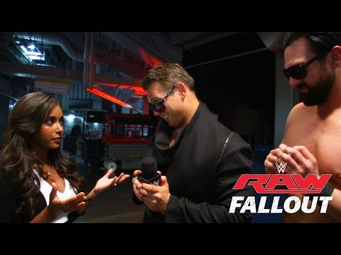 celebrates - The Miz and Damien Mizdow discuss pulling out the victory over Sheamus. More ACTION on WWE NETWORK : http://bit.ly/1u4pM74 Don't forget to SUBSCRIBE: http://bit.ly/1i64OdT.