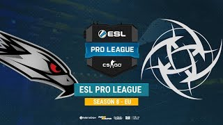AGO vs NIP - ESL Pro League S8 EU - bo1 - de_mirage [CrystalMay, Smile]