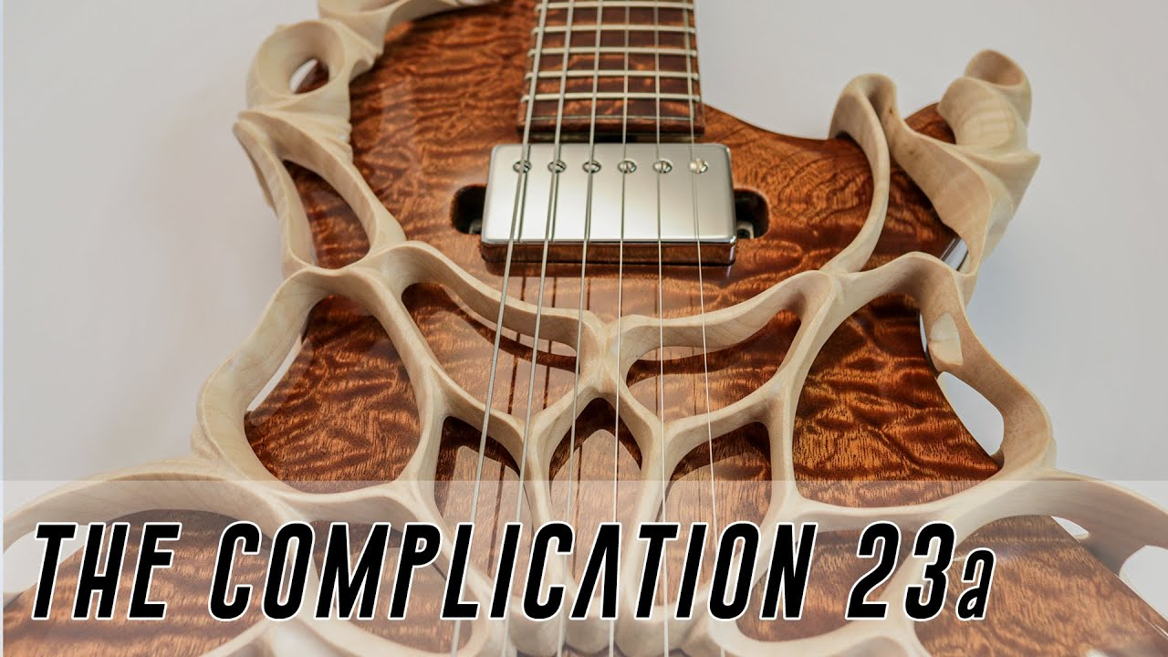 If Giger ever designed a guitar – the Complication Full Build part 1