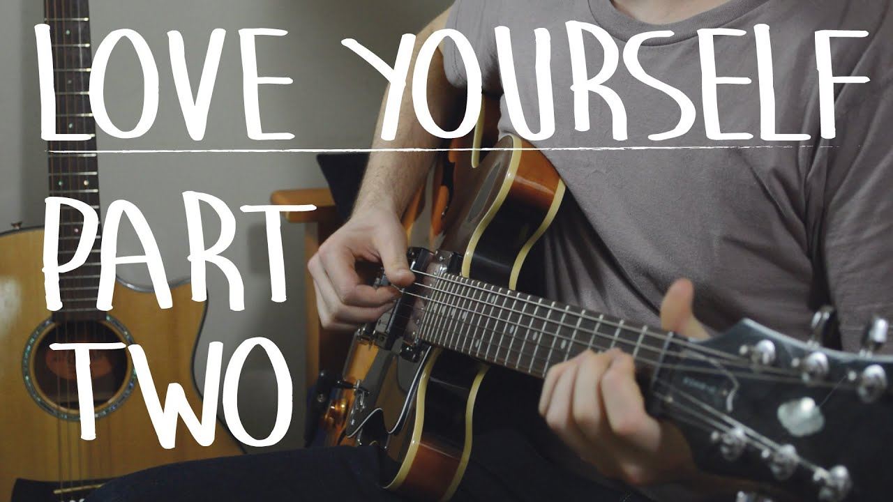 "How To Play ""Love Yourself"" Exactly Like The Recording PART I – Justin Bieber, Easy Guitar Lesson"