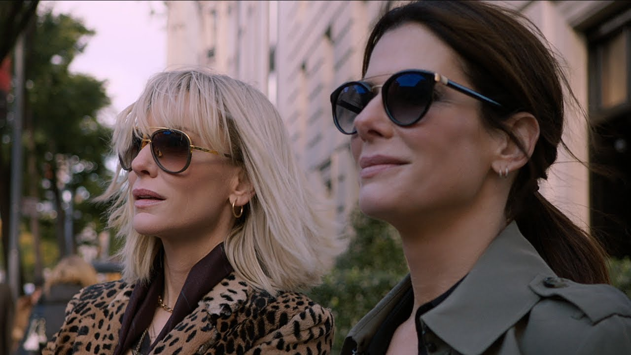 (New Trailer) Having this much Fun is a Crime. Con Sandra Bullock has Her Pros in Comedy Heist Action-Thriller 'Ocean's 8' with Rihanna & Ensemble Cast