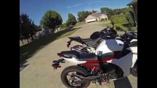 10. 2013  Honda CBR500R vs Yamaha FZ6R