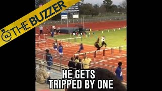 This guy won't let hurdles stop him by @The Buzzer