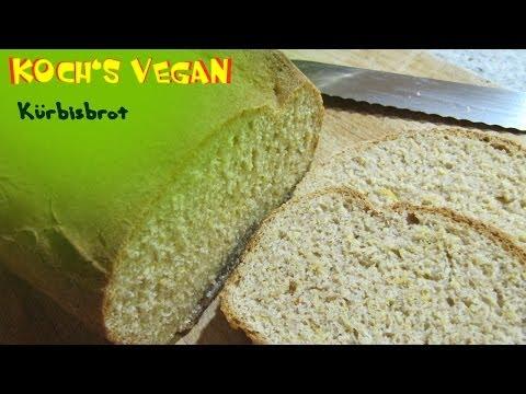 veganes Kürbisbrot – Brot selber backen – vegane Rezepte von Koch's vegan