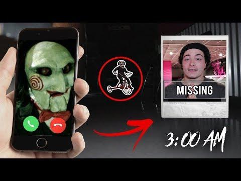 CALLING JIGSAW ON FACETIME AT 3AM!! (DO NOT FACETIME JIGSAW AT 3 AM!)