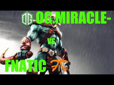 OG.Miracle Huskar vs Fnatic l The Frankfurt Major Loser Bracket