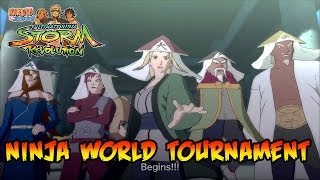 vidéo Naruto Shippuden UNS Revolution World Tournament Mode Trailer FR