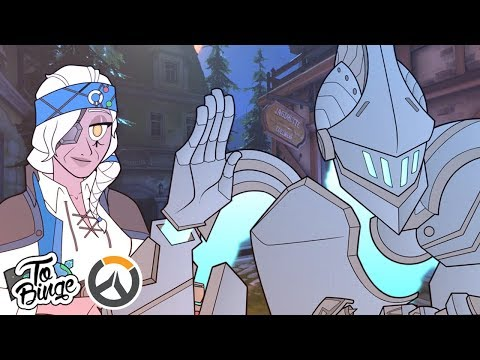 A Halloween Hello: Overwatch Animated