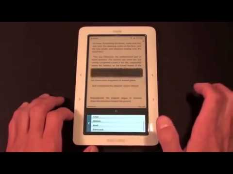 Barnes & Noble Nook Unboxing and Demo