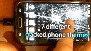 Cracked Screen Theme Tap LWP YouTube video