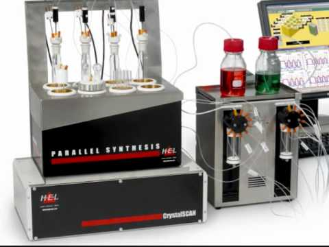 Automated Parallel Solubility Unit for Crystallisation and MSZW - HEL's CrystalSCAN