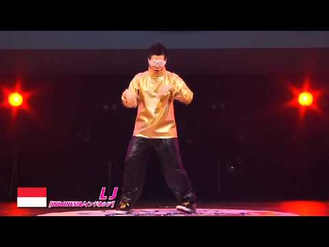 【GDC 3rd】GATSBY DANCE COMPETITION 2010-2011:ASIA GRANDFINAL/LJ【INDONESIA】