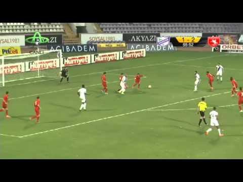 Orduspor 1-2 Samsunspor 07.09.2014 Maç Özeti