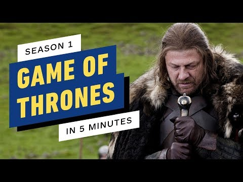 Game of Thrones Season 1 Story Recap in 5 Minutes