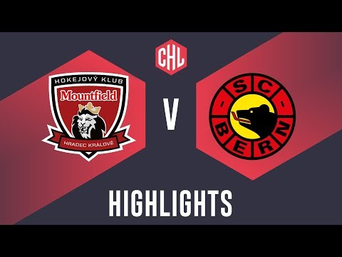 Highlights: Mountfield HK vs. SC Bern (видео)
