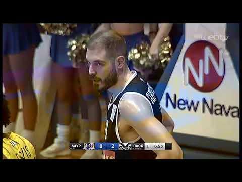 Basket League 2019-2020: ΛΑΥΡΙΟ – ΠΑΟΚ | 14/12/2019 | ΕΡΤ