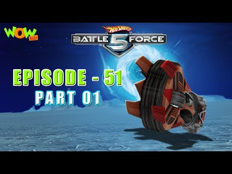 Hot Wheels Battle Force 5 - Rumble in the Jungle - S2 E51.P1 - in Hindi