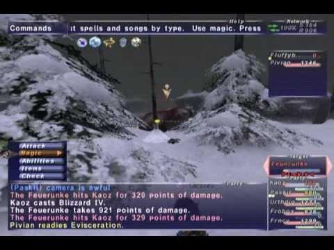FFXI NM Saga #303: Feuerunke NM [Full Battle]