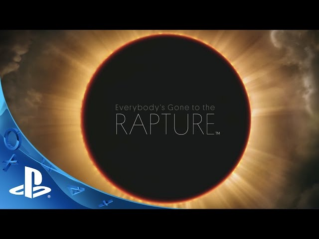 Видео к игре Everybodys Gone to the Rapture