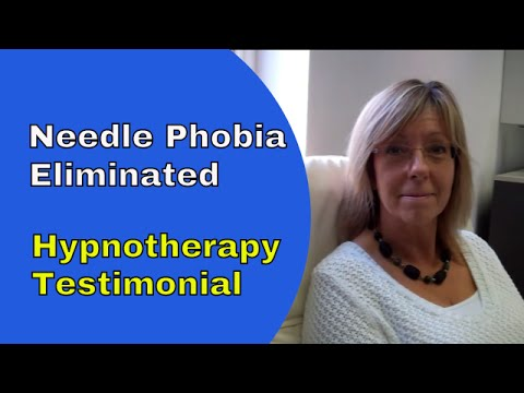Needle phobia hypnotherapy helps Heather