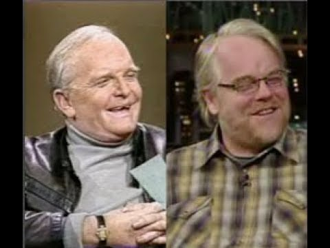Truman Capote, Philip Seymour Hoffman on Letterman, 1982, 2006
