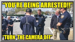 "Video "" YOU'RE BEING ARRESTED "" - "" Turn The Camera Off "" - East Hampton Police - First Amendment Audit 47 MP3, 3GP, MP4, WEBM, AVI, FLV Agustus 2019"