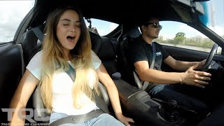 Maria Evo Girl Rides in 1200HP BEAST Supra! by  That Racing Channel