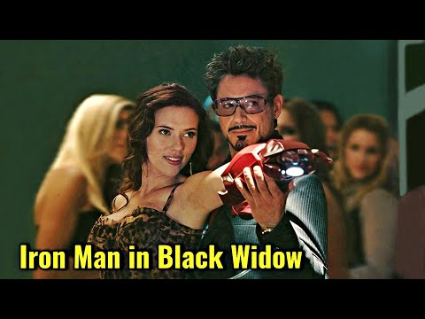 Iron Man In Black Widow Movie Explained In HINDI   Iron Man Cameo In Black Widow Explained In HINDI