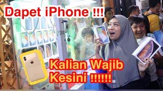 Rela Ngantri Demi Main Mesin Capit isi iPhone Xs Max  !! GIVEAWAY