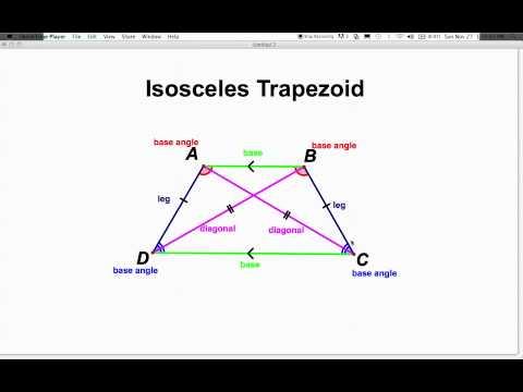 Isosceles Trapezoid Base Angles What is isosceles trap...