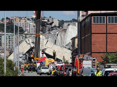 Γένοβα: Μετά την κατάρρευση της γέφυρας, η πόλη αναζητεί το χαμόγελο…